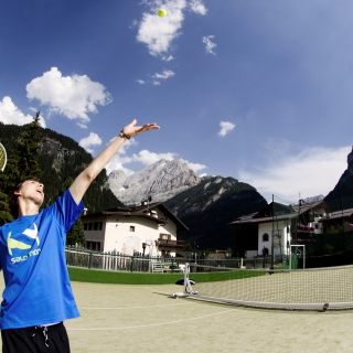 Tennis in Vaal di Fassa